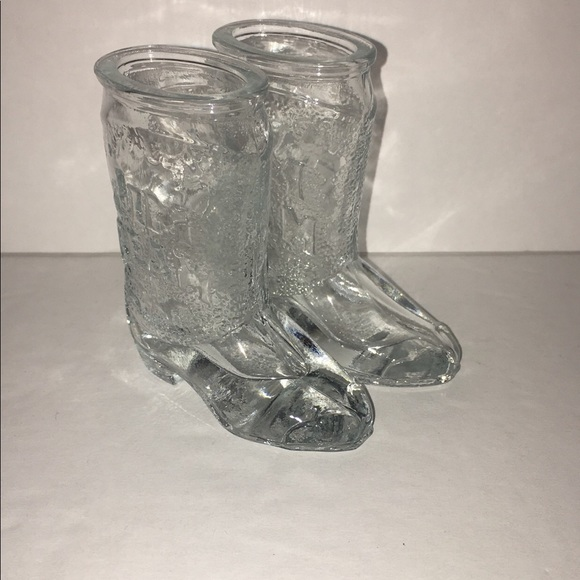 Accessories Jim Beam Cowboy Boot Shot Glasses Poshmark
